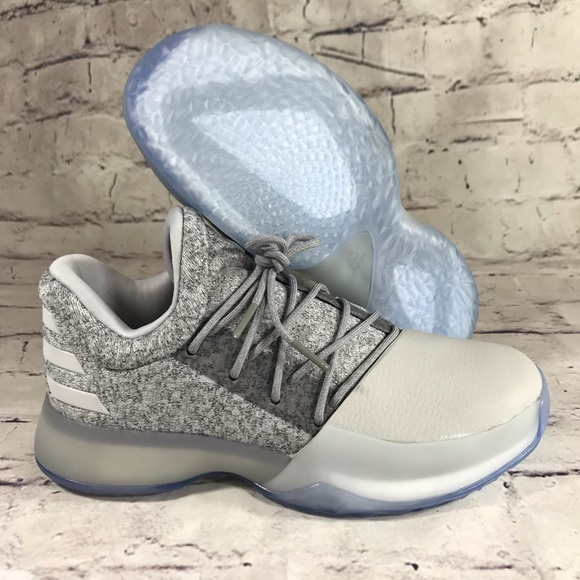 e362fb6bfb1 adidas Other - Adidas Harden Vol 1 Grey White Big Kids